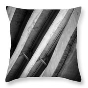 Urban Rib Cage - Number One Throw Pillow