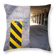 Urban Signs 2 Throw Pillow