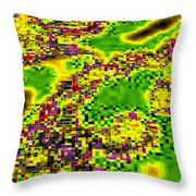 Urban Sprawl Throw Pillow