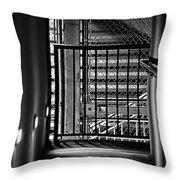 Urban Stairway Throw Pillow