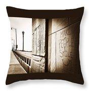 Urban Streets  Throw Pillow