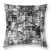 Urban Texture 4 Throw Pillow