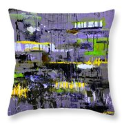 Urban Transport  Throw Pillow