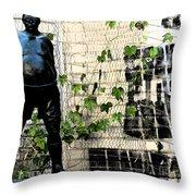 Urban Vines 2 Throw Pillow