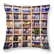 Urbanisation Throw Pillow