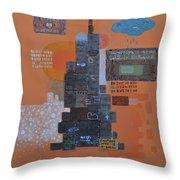 Urbanization Xiv Throw Pillow