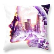 Urbanize Throw Pillow