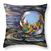 Urbe In Orbem Throw Pillow