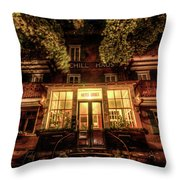 Urbex Hotel Throw Pillow