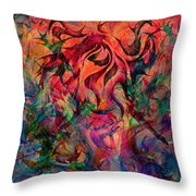 Urn Of The Fire Throw Pillow