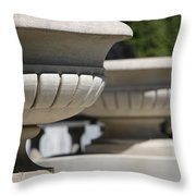 Urns Throw Pillow