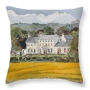Urpeth Hall Co Durham Throw Pillow