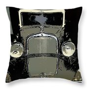 Uruguay Auto Throw Pillow
