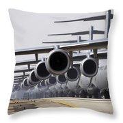 U.s. Air Force C-17 Globemaster IIis Throw Pillow