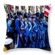 U.s. Army 1845 Throw Pillow