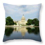 Us Capitol 1 Throw Pillow