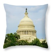 Us Capitol 2 Throw Pillow