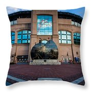 Us Cellular Field Throw Pillow