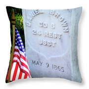 Us Colored Troops Throw Pillow