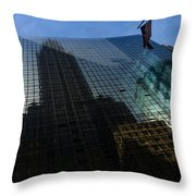 Us Flag Right Throw Pillow
