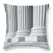 Us Supreme Court Building Iv Throw Pillow