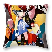 Us - The Manipulated Ones Throw Pillow