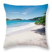 Us Virgin Islands, St. John, Cinnamon Throw Pillow