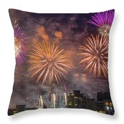 Usa 1 Throw Pillow by Ross G Strachan
