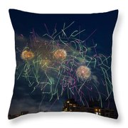 Usa 2 Throw Pillow by Ross G Strachan