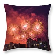 Usa 3 Throw Pillow by Ross G Strachan