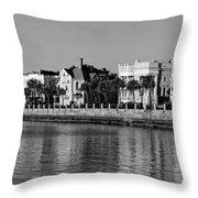 Usa, South Carolina, Charleston, View Throw Pillow