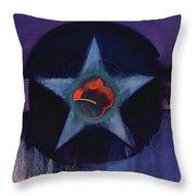 Usaaf Lilac Throw Pillow