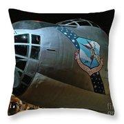 Usaf Museum B-36 Cold War Throw Pillow