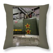 Usaf Museum F-4 Mig Killer Throw Pillow