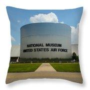 Usaf Museum  Throw Pillow