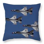 Usaf Thunderbirds Throw Pillow