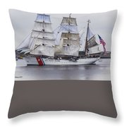 U S C G  Eagle Throw Pillow