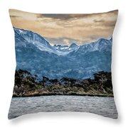 Ushuaia Ar 9 Throw Pillow