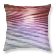 Ushuaia Ar - Ocean Ripples 2 Throw Pillow
