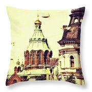 Uspenski Cathedral Throw Pillow