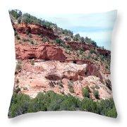 Utah 9 Throw Pillow