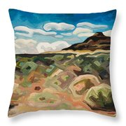 Utah Hill #6 Throw Pillow