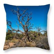 Utah Juniper Throw Pillow