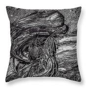 Utah Juniper Remains  Throw Pillow