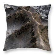 Utah Moonscape Throw Pillow