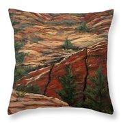 Utah Paradise Throw Pillow