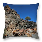 Utah Rocks Throw Pillow