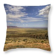 Utah Sky Throw Pillow