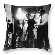 Utah State Prison Riot Throw Pillow