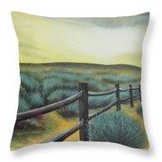 Utah Sunset Throw Pillow